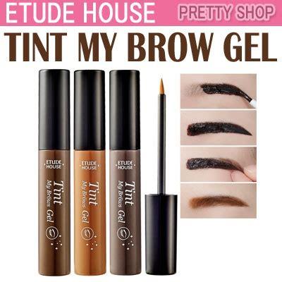 Populernya Eyeliner Gel Etude House qoo10 etude house new tint my brows gel 3color cosmetics