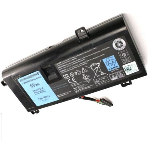 replacement y3pn0 11 1v 69wh battery for dell alienware 14d 1528 alienware 14x r3