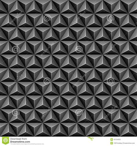 seamless triangle pattern vector 3d triangle seamless pattern stock vector illustration