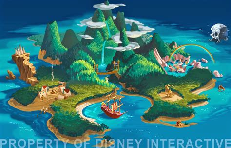 neverland map neverland map maybe something like this on a 3x4 canvas shared bedroom ideas