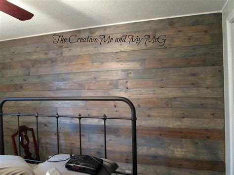 Best Stain For Shiplap The Creative Me And My Mcg