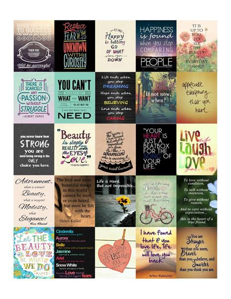 printable stickers quotes inspirational quotes stickers set 2 for erin condren