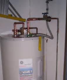 plumbing water heater piping