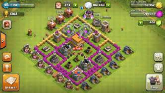 Clash of clans town hall 6 farming base best coc th6 farming defense