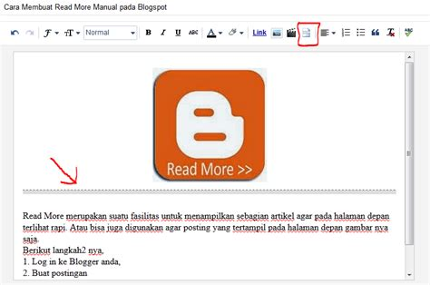 membuat virus jail cara membuat read more manual pada blogspot
