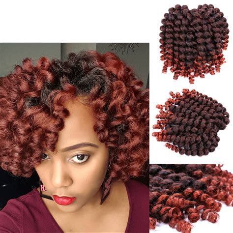 ombre crochet hairstyles ombre 1b 350 synthetic crochet hair jumpy wand curl