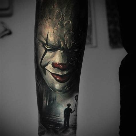 pennywise tattoo 715 best arm tattoos images on