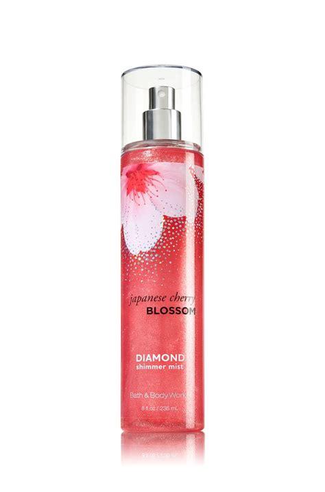 Odor Eliminating Mist Cherry Blossom japanese cherry blossom shimmer mist signature collection bath works 16
