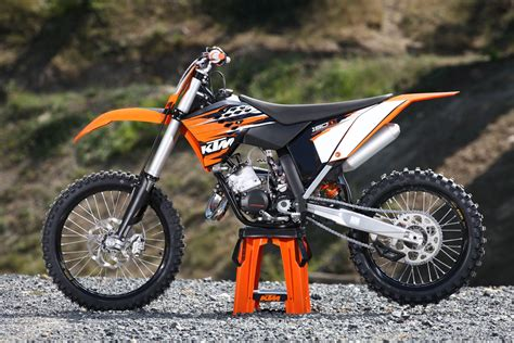 2010 Ktm 250sxf Change Ktm 450 Exc On The Ktm 125 Exc Dirt Bike Addicts