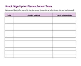 Sign Up Sheet Template Word doc 625693 40 sign up sheet sign in sheet templates word
