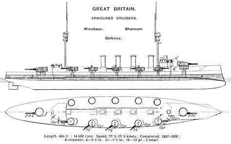 file minotaur class cruiser diagrams brasseys 1912 jpg
