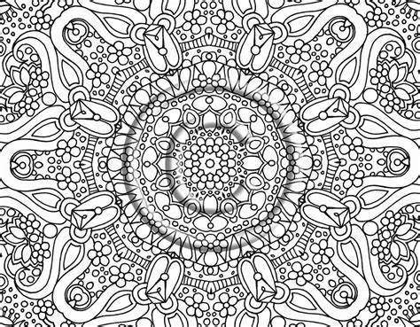 abstract coloring sheets free printable abstract coloring pages for adults
