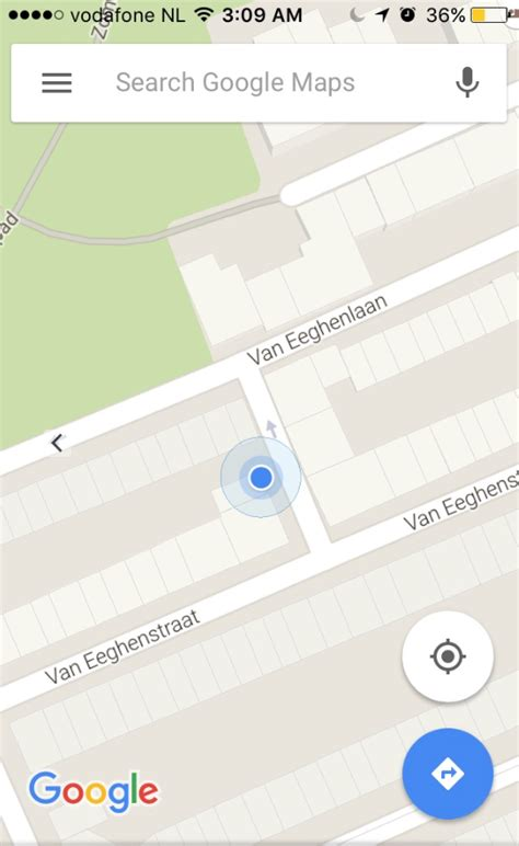 that blue dot in google maps now shows your direction what happened to the blue dot arrow compass in google