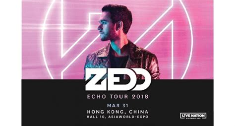 zedd tickets zedd echo tour 2018 live in hong kong tickikids hong kong