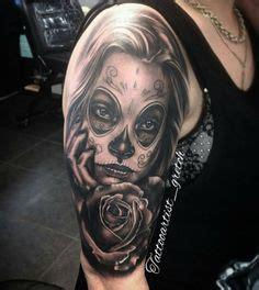 tattoo neck girl walking dead pin by j 233 r 244 me huber on body art pinterest