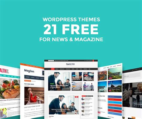 wordpress blog themes journal 21 free wordpress magazine themes for 2018 easyblog themes