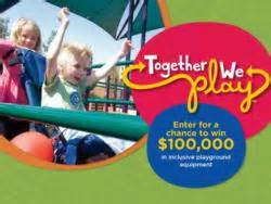 win   inclusive playground equipment   community     play contest