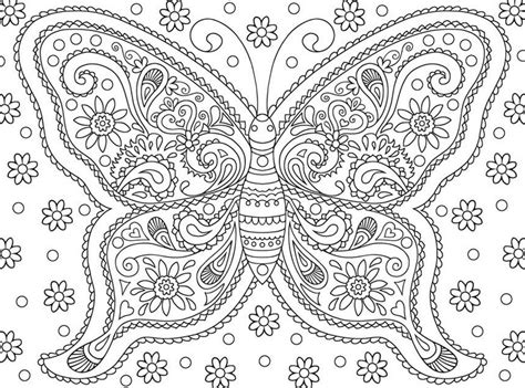 butterflies coloring book for adults books coloriage adulte papillons papillon 6