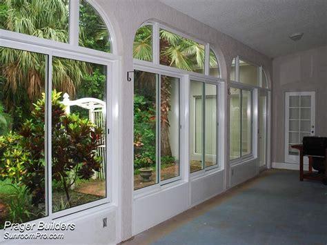 Florida Sunrooms Designs Oviedo Lanai Enclosure With Glass Windows Interior