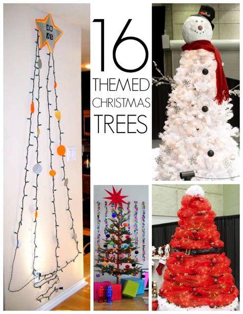 theme tree 19 christmas tree themes c r a f t