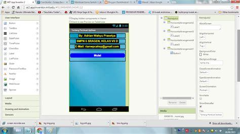 tutorial membuat aplikasi android dengan app inventor tutorial membuat aplikasi android dengan app inventor