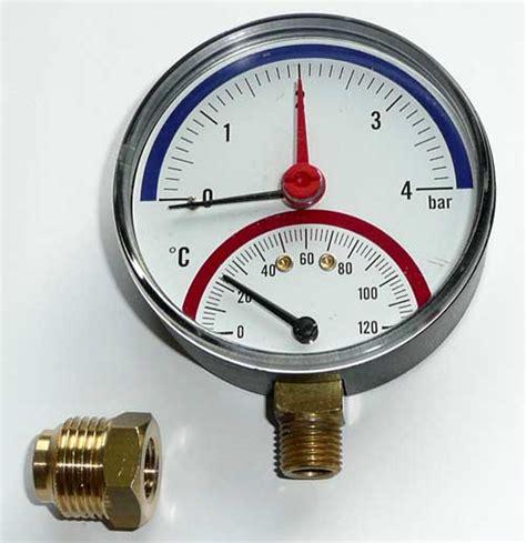 Heizung Wasserdruck Sinkt by Heizung Manometer Druck Klimaanlage Und Heizung