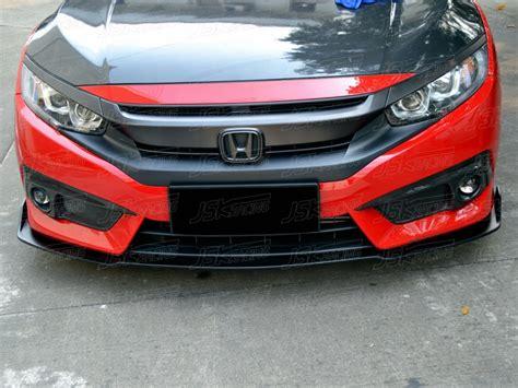 2016 civic front lip type r style carbon fiber front lip for 2016 2017 honda