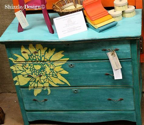 holland michigan solid vintage dresser hand painted in