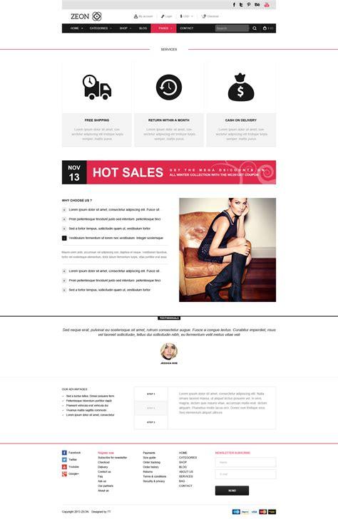 html ecommerce themes zeon ecommerce html theme by teslathemes themeforest