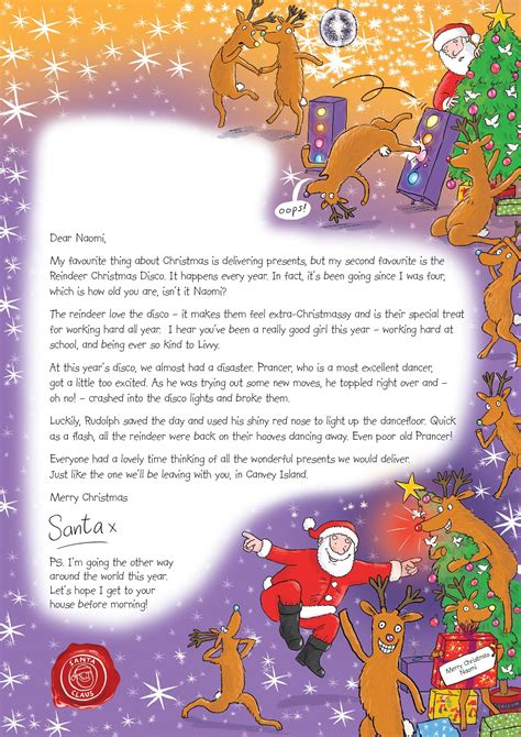 letter  santa   christmas   memorable