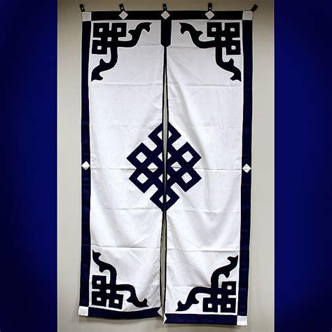 tibetan door curtain split door curtain eternal knot