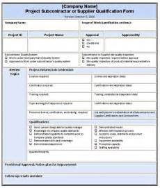 contractor quality plan template best photos of quality plan template free project