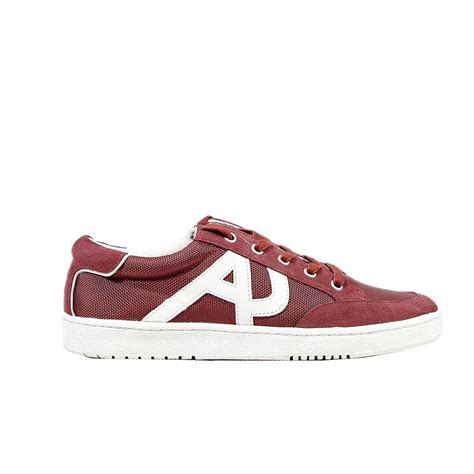 armani shoes armani shoes sneaker suede and canvas in for