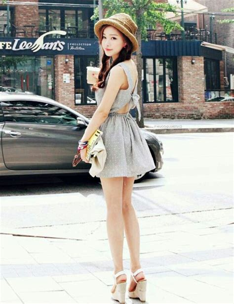 Wedges Fashion Korea 19 dress wedges hat korean fashion ulzzang and korean fashion