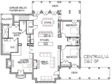 open concept home plans open concept house plans