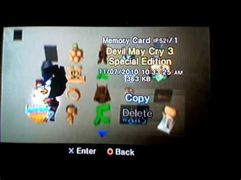 Memory Card 8gb Ps2 ps2 memory card creation part 1