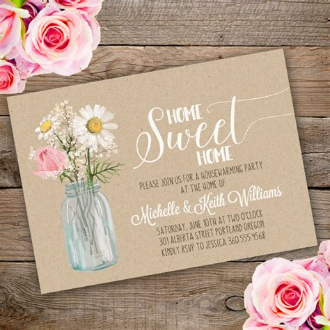 Baby Shower And Housewarming Together by Housewarming Invitation Template Edit With Adobe