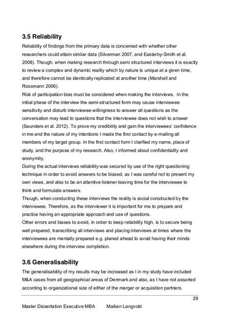 dissertation mba dissertation executive mba