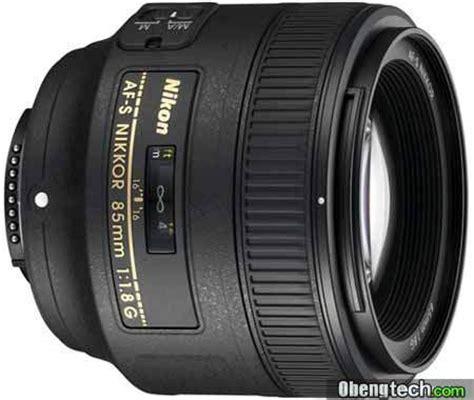 Lensa Nikon Af S 85mm F 1 8g lensa nikon af s nikkor 85mm f 1 8g fast medium telephoto
