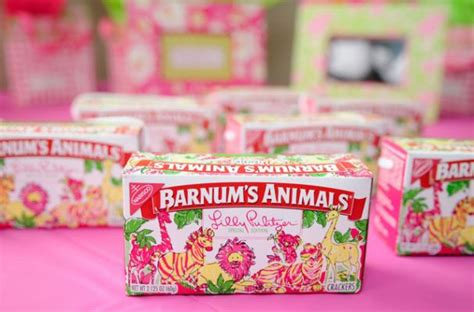 charity crackers foodista lilly pulitzer barnum s animals boxes hold