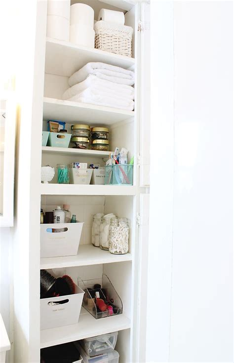 bathroom linen storage ideas best 25 organize bathroom closet ideas on pinterest