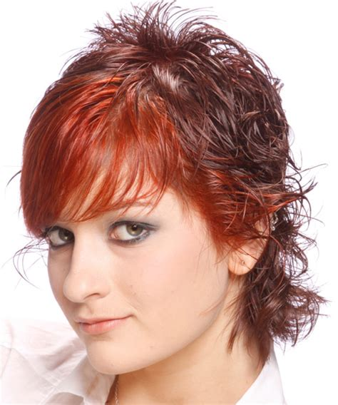 swoop bangs with short curly hair short wavy alternative hairstyle with side swept bangs