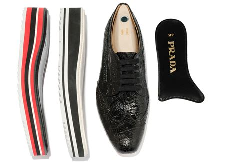 Prada Handmade Shoes - prada offers custom microsole brogues at bergdorf goodman