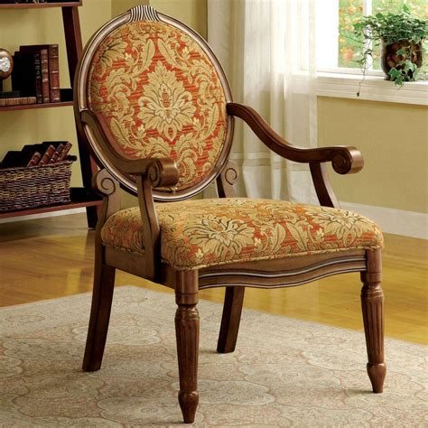 home decorators accent chairs home decorators collection hammond ruby gold fabric arm