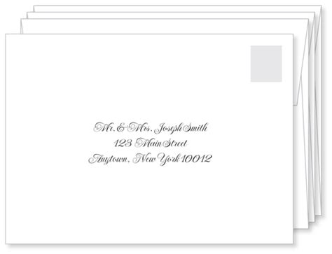 where does st go on envelope first impressions count a well addressed wedding