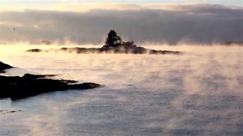 sea smoke this morning s inspiration with sea smoke at ocean point
