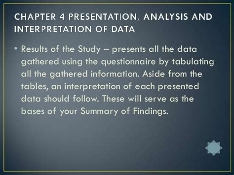 Research Paper Summary Of Findings by 5 Parts Of Research Paper