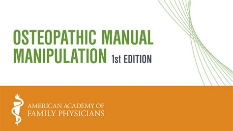 a manual of osteopathic manipulations and treatment classic reprint books aafp procedural cme on osteopathic manual manipulation cme