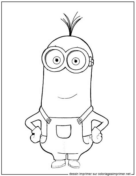 minion coloring page kevin 56 best art th 233 rapie personnages images on pinterest