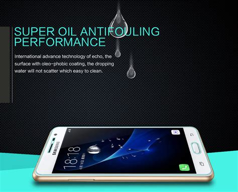 Nillkin Tempered Glass Amazing H Samsung Galaxy J3 Pro J3110 nillkin amazing h tempered glass screen protector for samsung galaxy j3 pro j3110